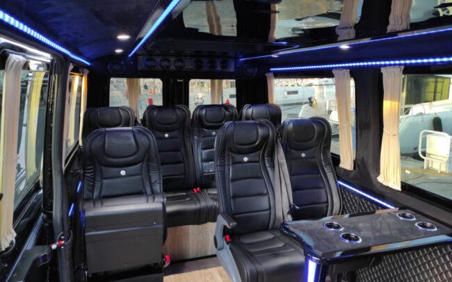 minibus corfu interior