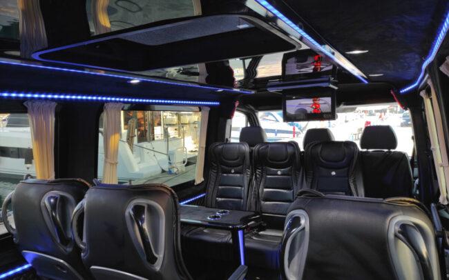 corfu minibus interior